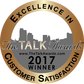 Excellence in talk badge